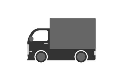 バン・トラックのレンタカー